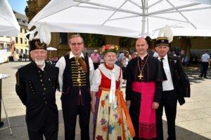 Begegnung am Wallfahrtstag Bild: Karin Bohn